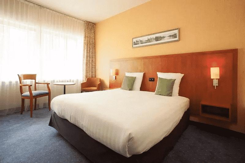 Quarto do hotel New West Inn em Amsterdã