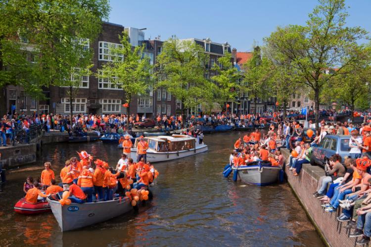 Dia do Rei na Holanda