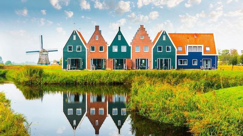 Marinapark Volendam na Holanda