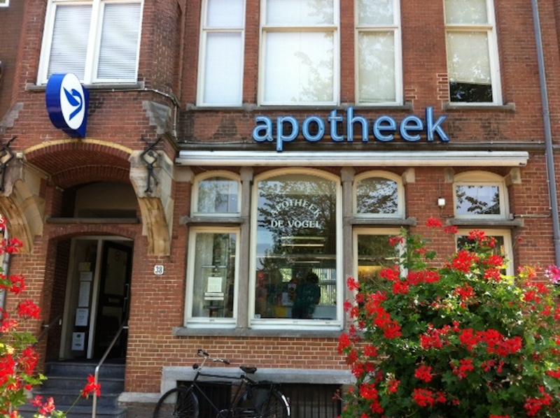 Farmácia em Amsterdã