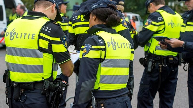 Polícia em Amsterdã